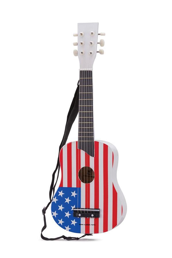 Gitarre USA Flagge