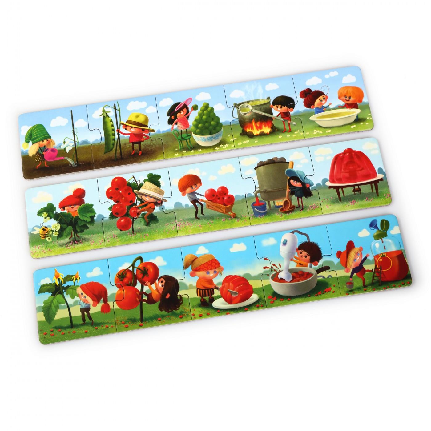 """puzzlika - """"Zusammen Kochen 2"""", 15 teiliges Puzzle"""