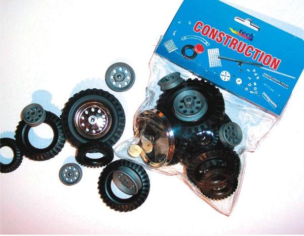 Ergänzungsbeutel Radfelgen, Reifen, Laufräder