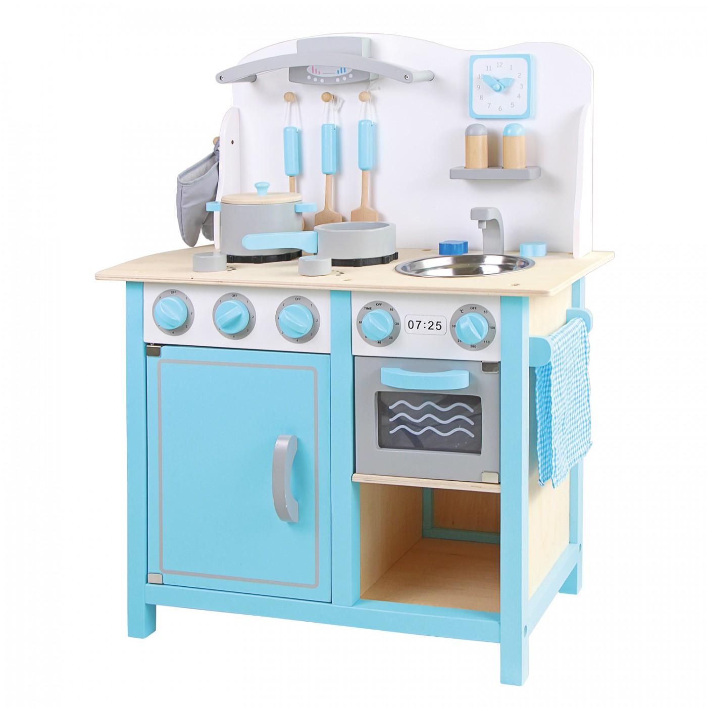 Küchenzeile - Bon Appetit - DeLuxe blau